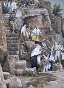 Fine Art Print The Disciples of Jesus Baptising