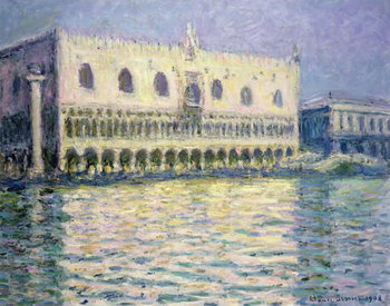 Fine Art Print The Ducal Palace, Venice, 1908