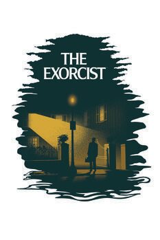 Art Poster The Exorcist arrived