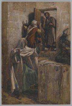 Fine Art Print The First Denial of Saint Peter