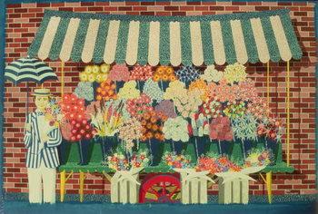 Reprodução do quadro The Flower Man