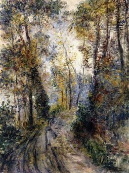 Fine Art Print The Forest Path, 1871