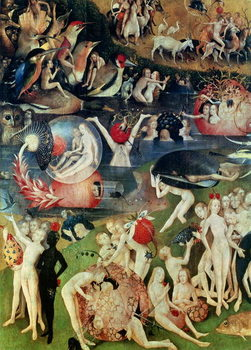 Taidejuliste The Garden of Earthly Delights, 1490-1500