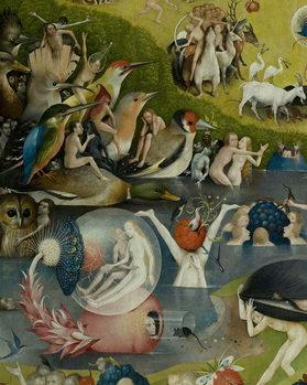 Fine Art Print The Garden of Earthly Delights, 1490-1500