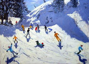 Fine Art Print The Gully, Belle Plagne, 2004