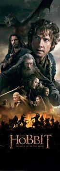 Art Poster The Hobbit - The Battle of the Five Armies