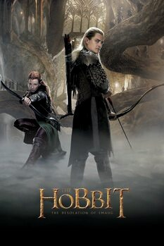 Poster The Hobbit - The Desolation of Smaug