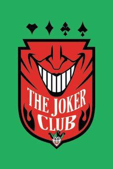 Impressão de arte The Joker - Club