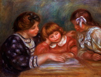 Fine Art Print The Lesson, 1906