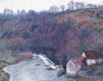 Reprodução do quadro The Mill at Vervy, 1889