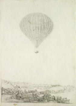 Taidejuliste The Montgolfier Brothers, c.1800-08