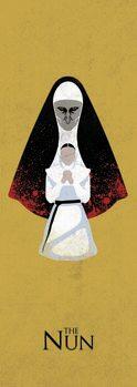 Taidejuliste The Nun - Paha takana