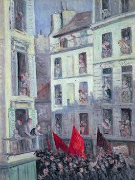 Reprodução do quadro The Popular Front, c.1936