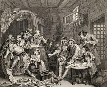 Fine Art Print The Prison Scene, plate VII