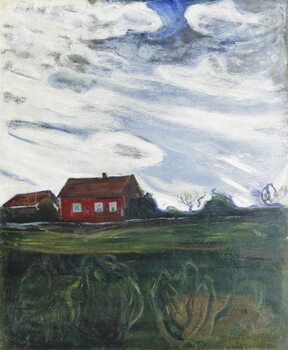 Taidejuliste The Red House
