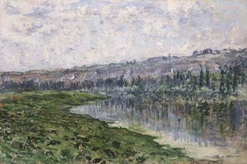 Fine Art Print The Seine and the Hills of Chantemsle; La Seine et les Coteaux de Chantemsle