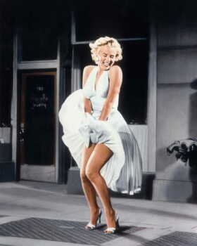 Taidejuliste The Seven Year itch  directed by Billy Wilder, 1955