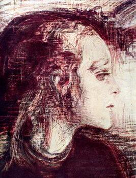 Fine Art Print The Sick Girl