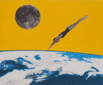 Fine Art Print The space dive, 2016,