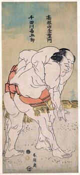 Taidejuliste The Sumo Wrestlers