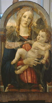 Fine Art Print The Virgin and Child, 19th century forgery