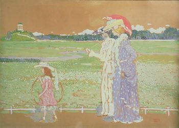 Reprodução do quadro The Walk, 1903