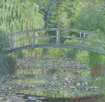 Reprodução do quadro The Waterlily Pond: Green Harmony, 1899