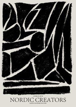 Illustration Things fall apart - Black