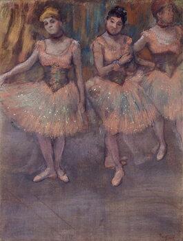 Fine Art Print Three Dancers before Practice, c.1880
