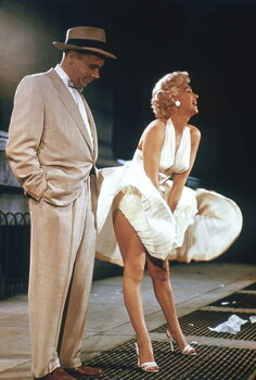 Fine Art Print Tom Ewell And Marilyn Monroe