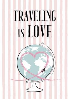 Ilustração Travelling