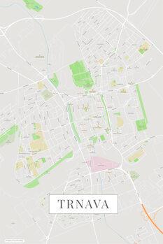 Map Trnava color
