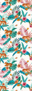 Illustration Tropical Tiger
