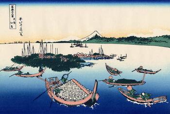 Fine Art Print Tsukada Island in the Musashi province