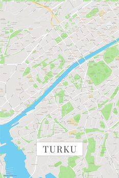 Map Turku color
