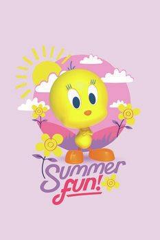 Poster Tweety - Summer fun