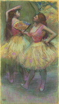 Fine Art Print Two Dancers Before Going on Stage