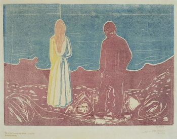Taidejuliste Two People, 1899