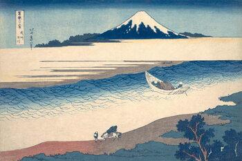 Fine Art Print Ukiyo-e Print of the Tama River