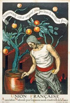Fine Art Print Union Française Association Nationale pour l'expansion morale et matérielle de la France
