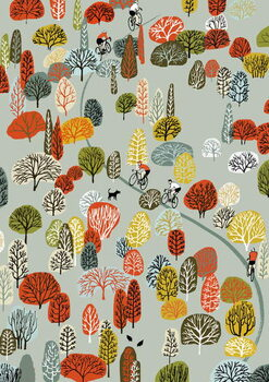 Fine Art Print Uphill, 2012
