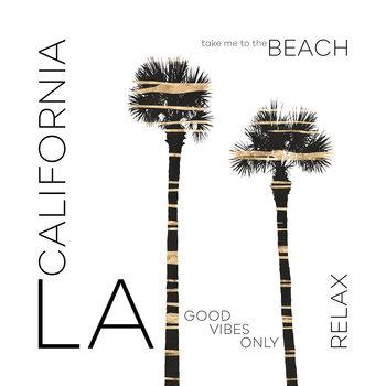 Kuva Urban Art LA Palm Trees