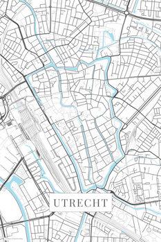 Map Utrecht white