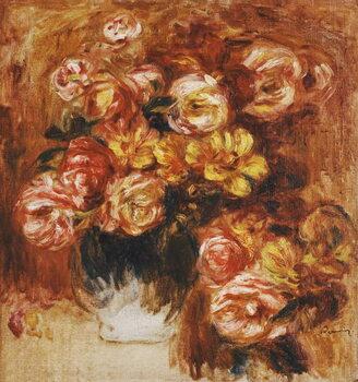 Fine Art Print Vase of Roses; Vase de Roses,