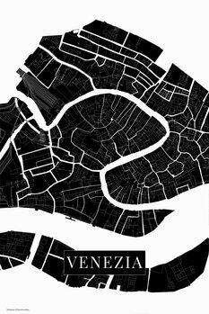 Map Venezia black