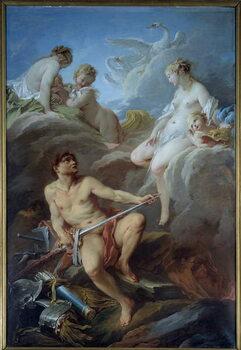 Fine Art Print Venus asking Vulcan for weapons