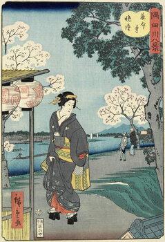 Fine Art Print Vesper Bells at Cho_mei-ji Temple, November 1861