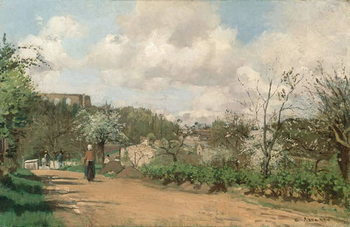 Fine Art Print View from Louveciennes, 1869-70