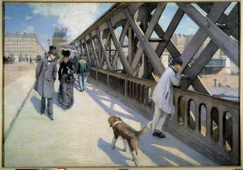 Fine Art Print View of the Pont de l'Europe in Paris in 1876