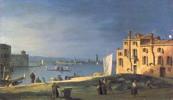Fine Art Print View of Venice